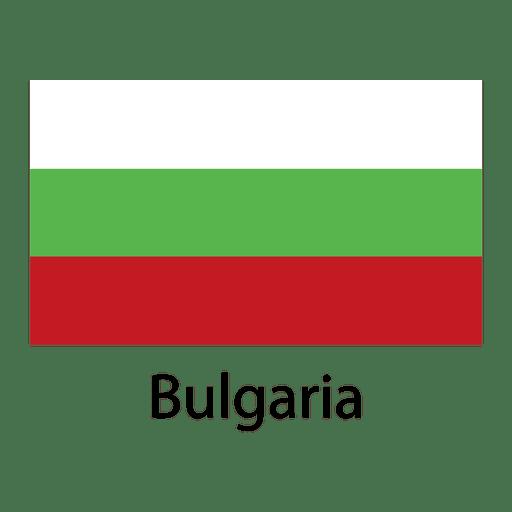 Bandera nacional de bulgaria