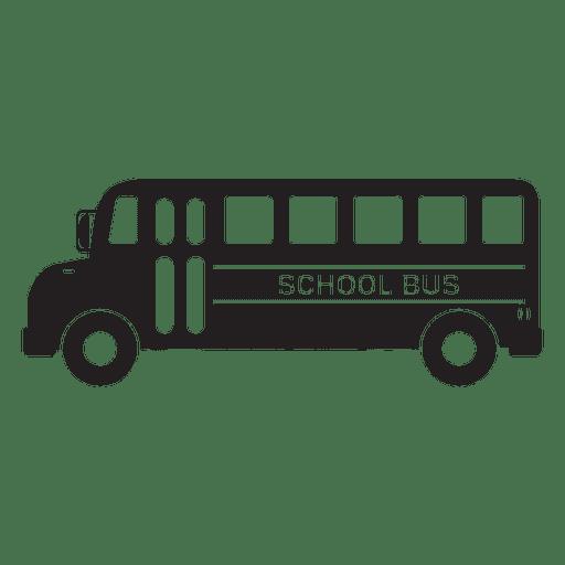 School bus graphic icon Transparent PNG