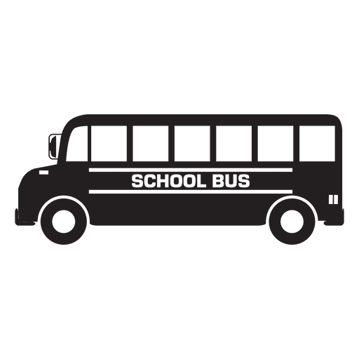 Bus school illustration Transparent PNG