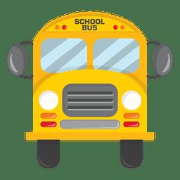 Frente de ônibus escolar