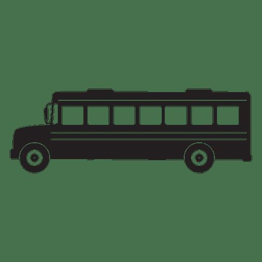 vintage school bus silhouette transparent png   svg vector clip art for graduation cap clip art for graduation