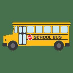 Autobús escolar amarillo