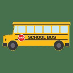Escola de ônibus escolar