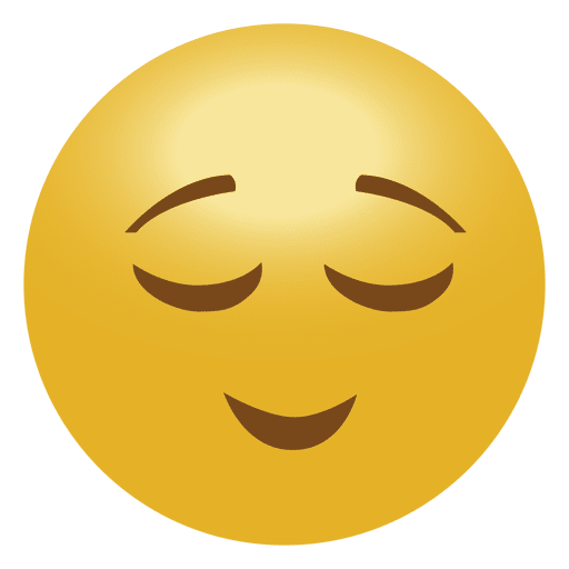 Calm Emoji Emoticon Transparent Png Amp Svg Vector