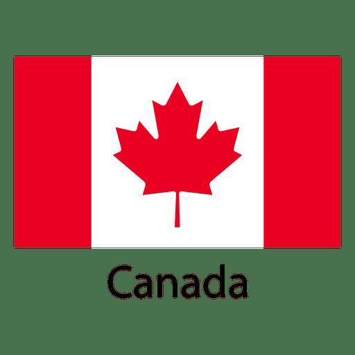 Bandera nacional de canadá