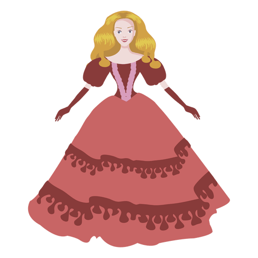 Cartoon lady doll Transparent PNG