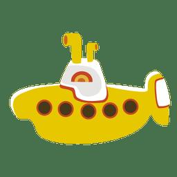 Submarino de dibujos animados