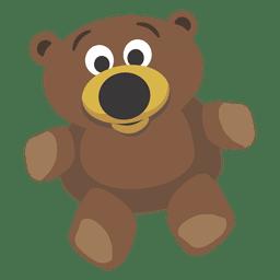 Urso de peluche dos desenhos animados