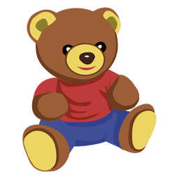 Urso de peluche dos desenhos animados 02