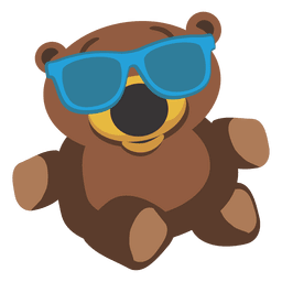 Cartoon teddy bear 03
