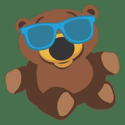 Urso de pelúcia dos desenhos animados 03