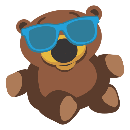 Cartoon teddy bear 03 Transparent PNG