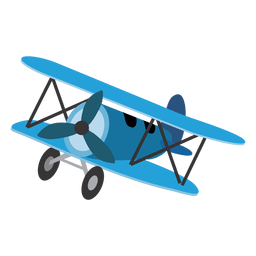 Cartoon toy airplane