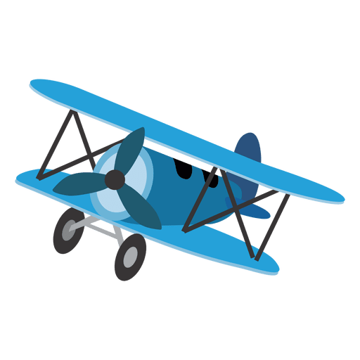 Cartoon Toy Airplane Transparent Png Svg Vector File