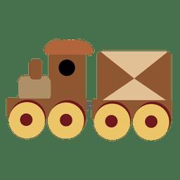 Trem dos desenhos animados