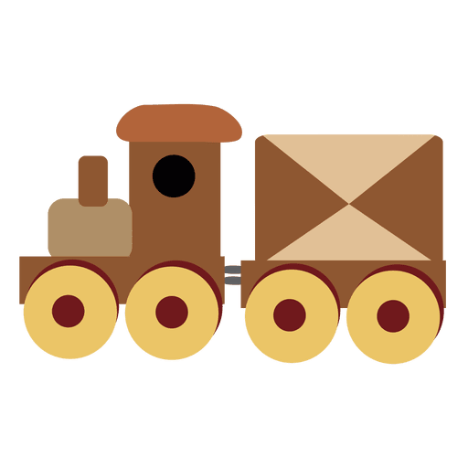 Cartoon train Transparent PNG