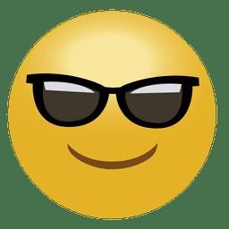 Emoticon fresco de emoji