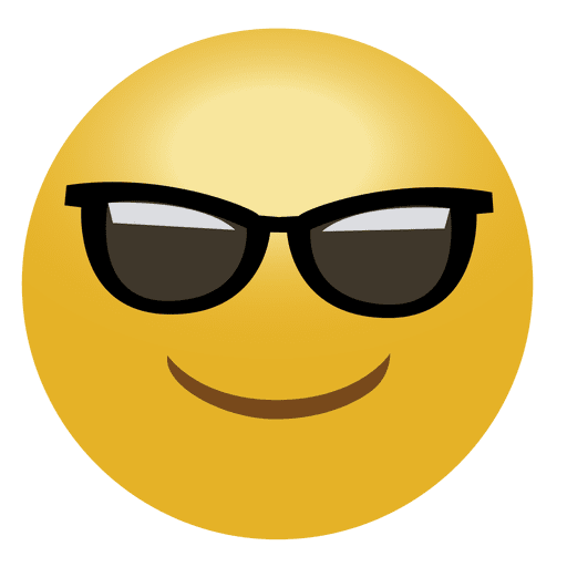 Cool Emoji Emoticon Transparent Png Svg Vector