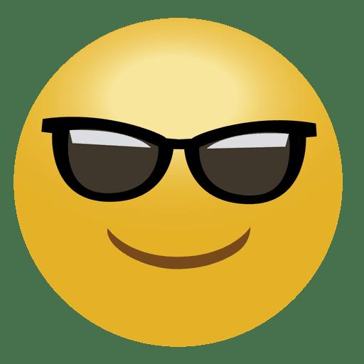 Cooles Emoji-Emoticon