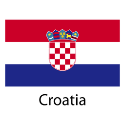 Bandera nacional de croacia
