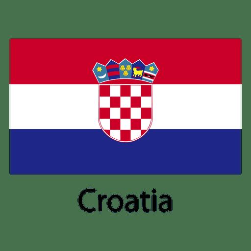 Kroatien Nationalflagge