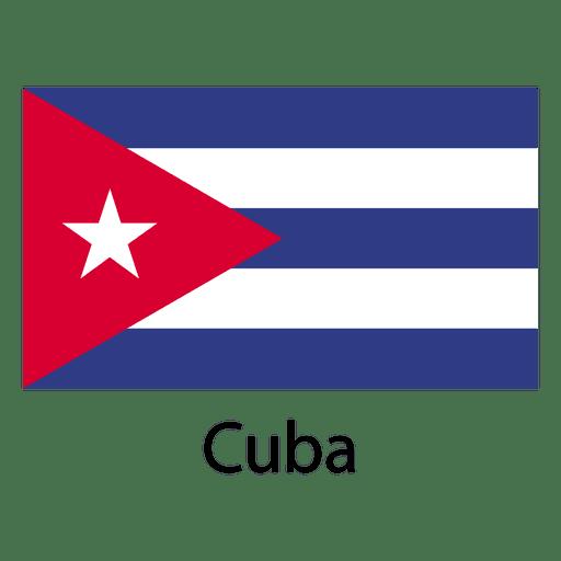 Kuba-Nationalflagge