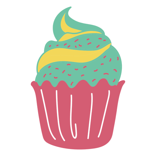 Cupcake sweet pastel food  Transparent PNG