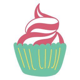 Cupcake Sweet Food Sobremesa