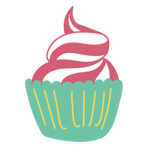 Cupcake sweet food dessert Transparent PNG