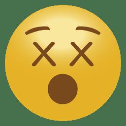 Emoticon de emoji muerto