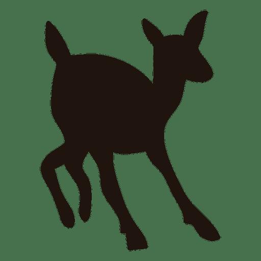 Deer silhouette 55 Transparent PNG