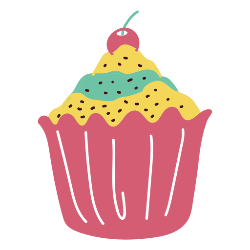 Postre cupcake dulces