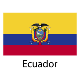 Bandeira nacional do Equador