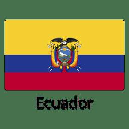Bandera nacional de ecuador