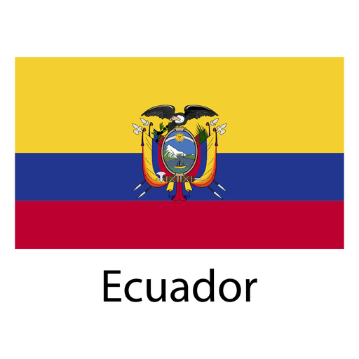 Ecuador national flag
