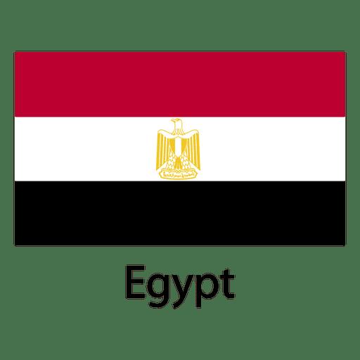 Bandeira nacional do egito Transparent PNG