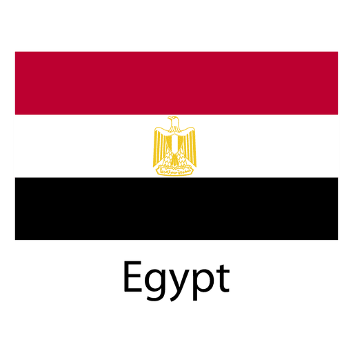 Egypt national flag Transparent PNG