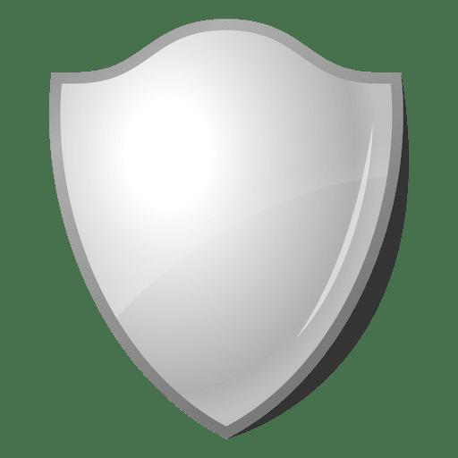 3D emblem shield label