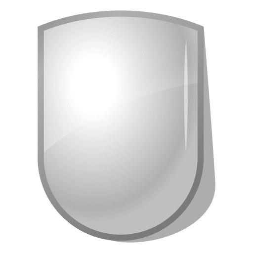 Glossy 3D Shield Emblem