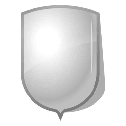 Glossy Emblem Schildaufkleber