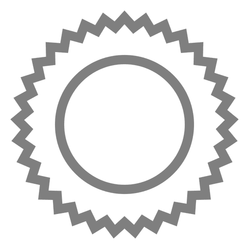 Gray emblem shield label Transparent PNG