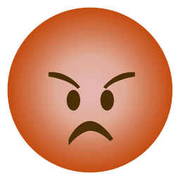 Emoji angry emoticon