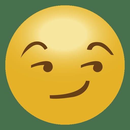 Emoji cool emoticon