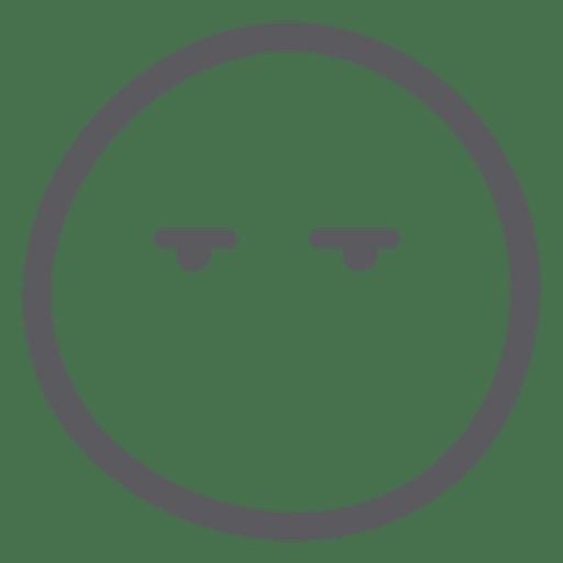 Emoji emoticon no mouth Transparent PNG