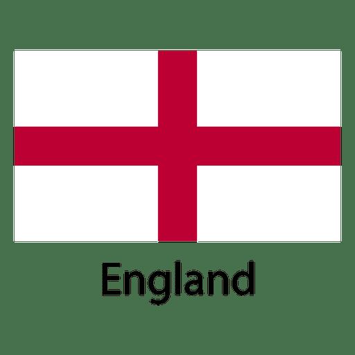 England national flag Transparent PNG