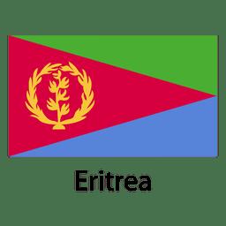Bandera nacional de eritrea