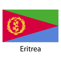 Eritrea national flag