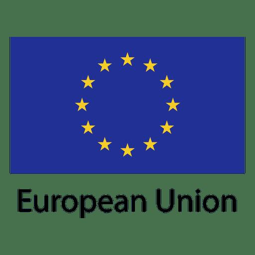Bandera nacional de la union europea Transparent PNG