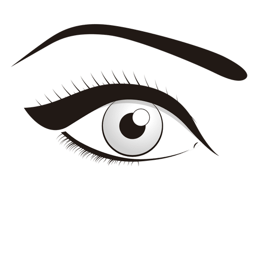 Eye make up Transparent PNG