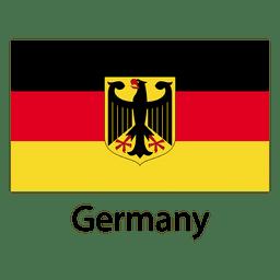 Deutschland Nationalflagge